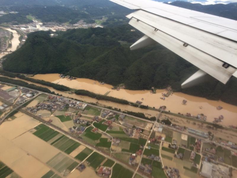 大雨災害からの復興を祈ります。