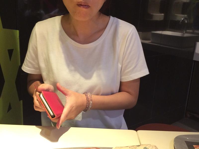 安全なマックを食べるbibimama