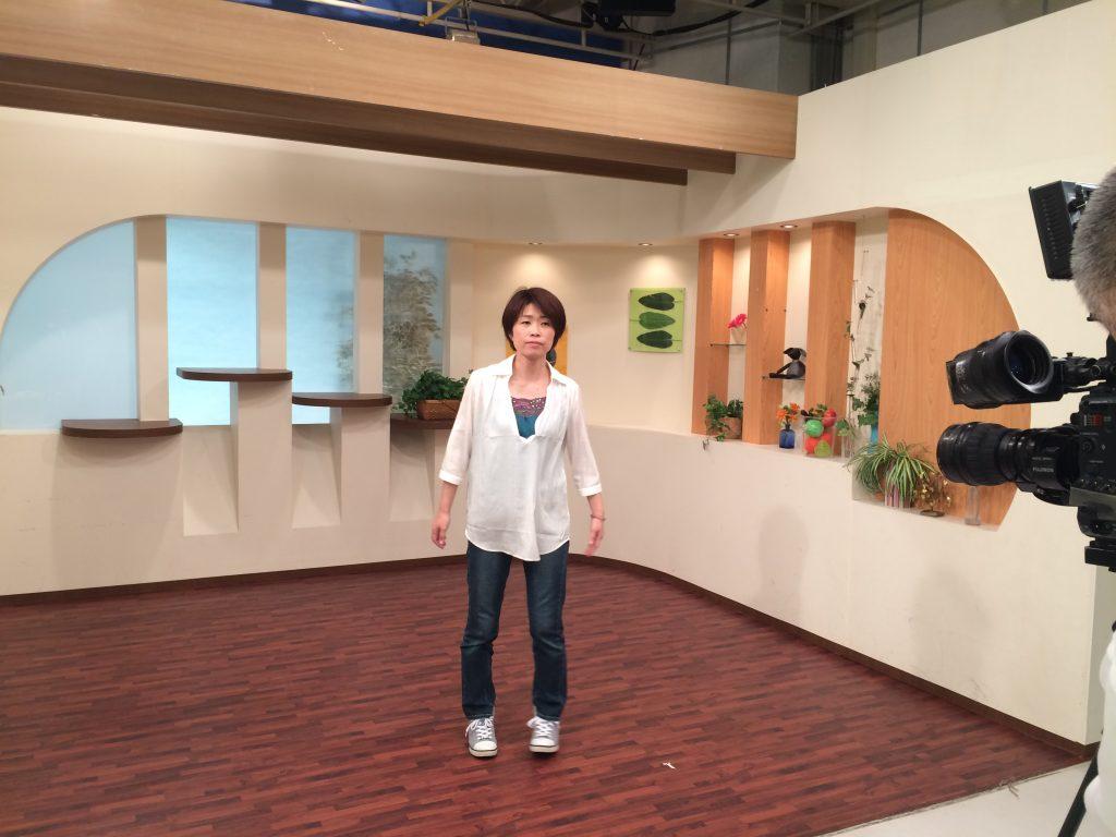 テレビCM撮影中のbibimama