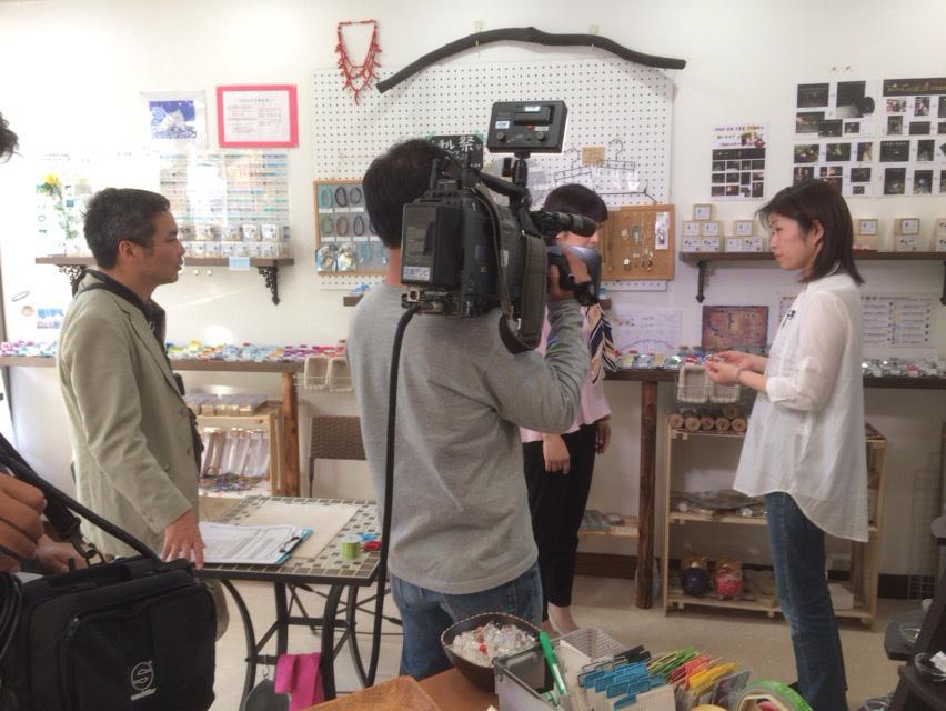 広島テレビの収録