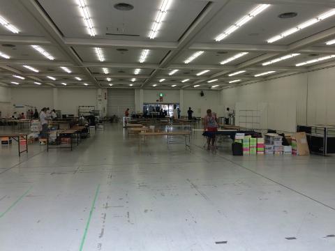第一回 広島ミネラルマルシェの会場