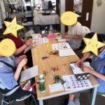 砂の工房ビビでのマクラメ編み教室